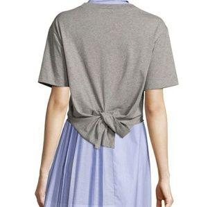 Public School NYC Lara Tieback Cotton Jersey Tee M